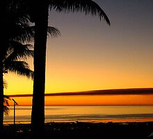 Tropical Sunset, Broome, western Australia by Julia Harwood