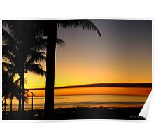 Tropical Sunset, Broome, western Australia Poster