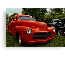 1947 Chevy Stylemaster Canvas Print