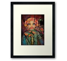 the poppy princess Framed Print