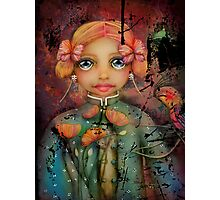 the poppy princess Photographic Print