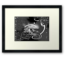 Mirror Of Peace Framed Print