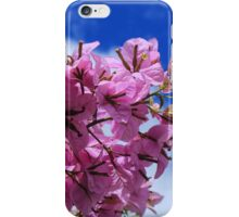 Purple Blossoms on a Branch iPhone Case/Skin