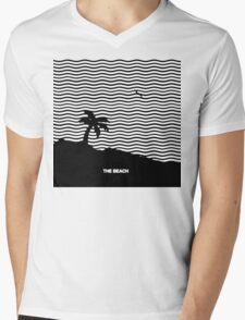 The Beach  Mens V-Neck T-Shirt