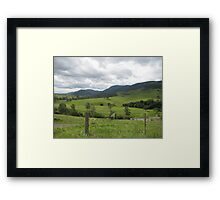 Bretti's Reserve  Framed Print