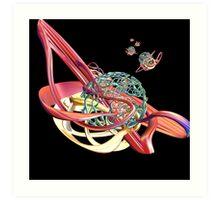 Space Ship Art Print