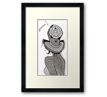 Mad hatter Framed Print