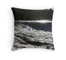 Floating Water Throw Pillow