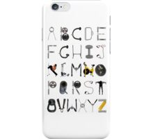 The ABC's of fitness iPhone Case/Skin
