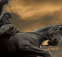 Statue of Wenceslas, Wenceslas Square, Prague by SerenaB