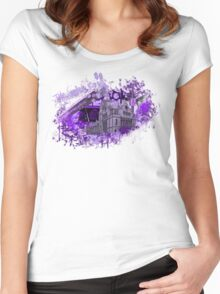 The violet room Women's Fitted Scoop T-Shirt