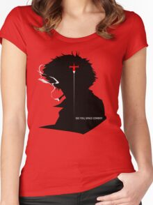 Cowboy Bebop See you, space cowboy !! Women's Fitted Scoop T-Shirt