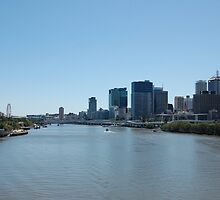 BRISBANE RIVER by Julieholl