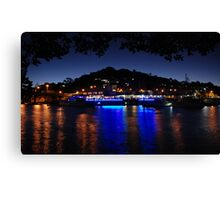 The Ivory from under the Mangroves Canvas Print