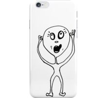 hungry face iPhone Case/Skin