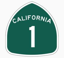 California State Route 1, USA One Piece - Short Sleeve
