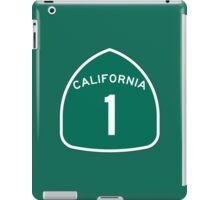 California State Route 1, USA iPad Case/Skin