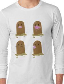Diglett - The Secrets Out Long Sleeve T-Shirt