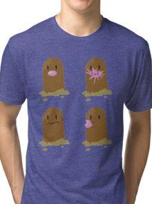 Diglett - The Secrets Out Tri-blend T-Shirt