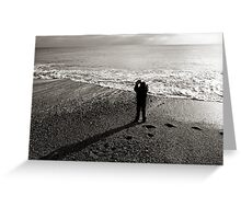 Throwing Stones Greeting Card