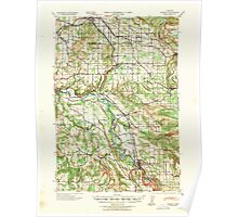 USGS Topo Map Oregon Boring 282270 1940 62500 Poster