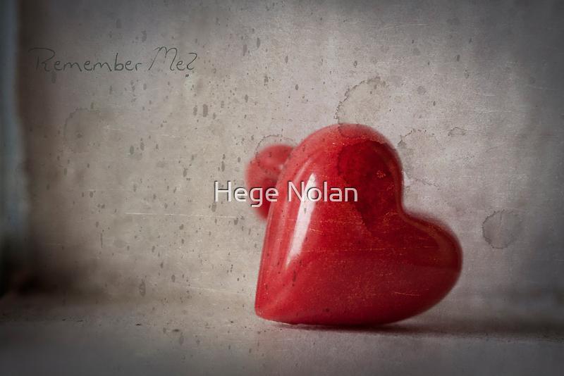 Remember Me? by Hege Nolan