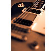 Gibson Les Paul  Photographic Print