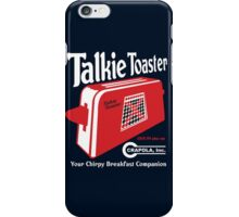 Talkie Toaster - Your Chirpy Breakfast Companion iPhone Case/Skin