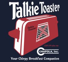 Talkie Toaster - Your Chirpy Breakfast Companion by McPod