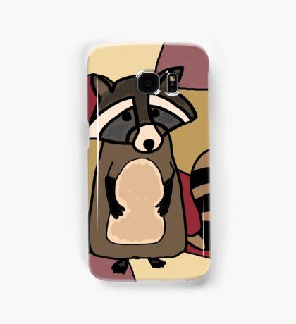Funky Raccoon Original Art Samsung Galaxy Case/Skin