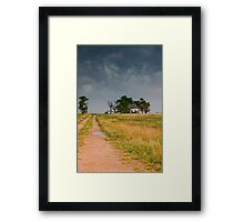 Abandoned Farms & Thunderstorms Framed Print