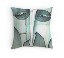 the tinmans close up Throw Pillow