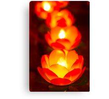 lotus light Canvas Print