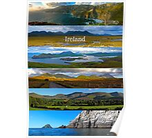 panoramic Ireland Poster