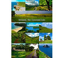 Ireland, Emerald Isle Photographic Print