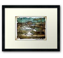 Boats at Hillarys Harbour Framed Print