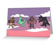 Mythical Minis Greeting Card