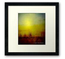 Turner Sails Framed Print