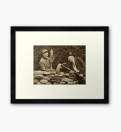 The First Groundhog Day Framed Print