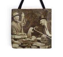 The First Groundhog Day Tote Bag