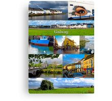 The vibrant city of Galway Canvas Print