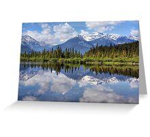 Vermillion Lakes (2) Greeting Card