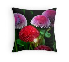 All That Color For Me Throw Pillow