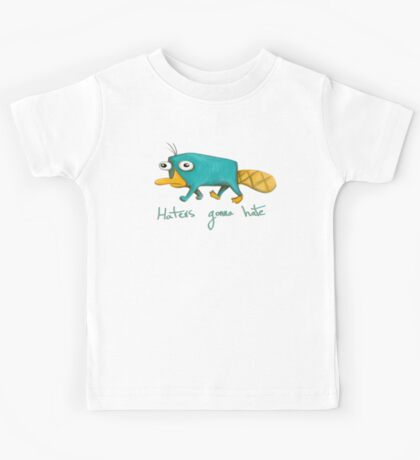 Perry the Platypus Kids Tee