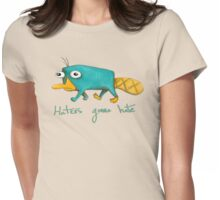 Perry the Platypus Womens Fitted T-Shirt