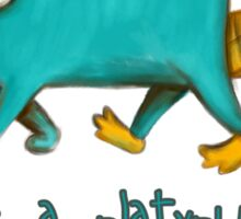 Perry the Platypus v2.0 Sticker