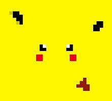 Pikachu Pixels by MountyBounty