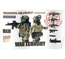 Modern Military War economy Poster