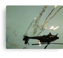Popping Apache 2(inverted) Canvas Print