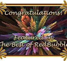Botanical The Best of RedBubble Feature Banner by wolfepaw